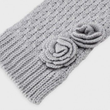 Mayoral Hat and scarf set Silver 10897-88