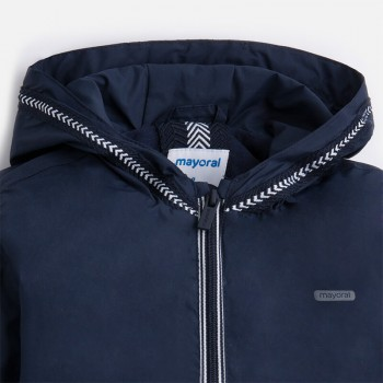 MAYORAL boys' dark blue spring/autumn jacket with hood 3478-70