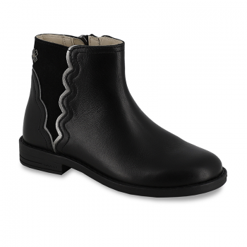 MAYORAL Leather bootie black 46219/48219-015