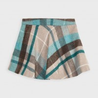 Mayoral plaid lurex skirt Duck Green 4952-86