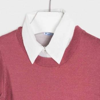 Mayoral chiffon blouse-sweater Chrystal 7329-55
