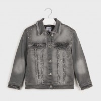 Mayoral Denim jacket Gray 7406-22