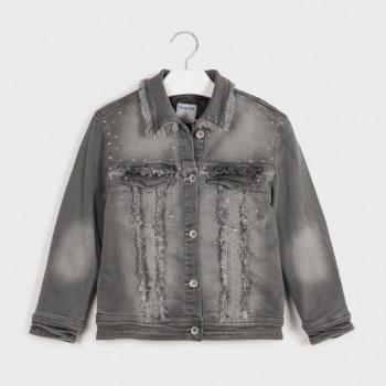 Mayoral Denim jacket Gray 7406-22