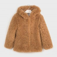 Mayoral Fur coat Oat 7410-19