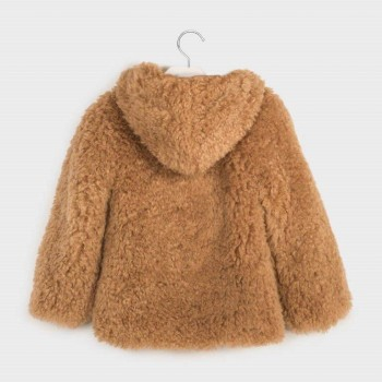 Mayoral Fur coat Oat 7410-19