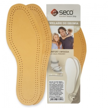 Seco sheepskin thin inner soles