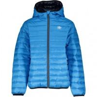 UMBRO Wisp Jr quilted hooded jacket blue 172506-6133