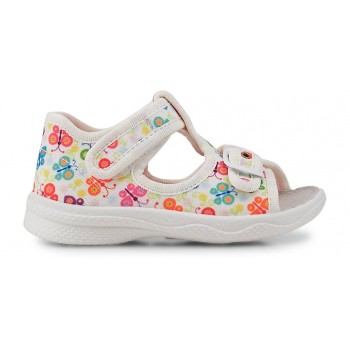 SUPERFIT POLLY weiss sandals 4-00292-10