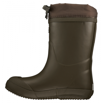 Viking Indie Thermo Wool Olive with warm lining rubberboots 1-12340-37