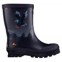 VIKING Jolly Bat & Eagle rubber boots navy/multi 1-10630-550