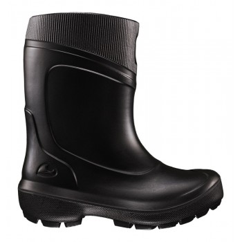 VIKING SUPRA WARM black with warm lining thermo rubberboots 5-74300-2