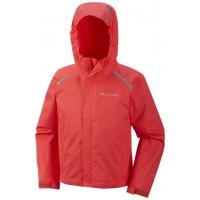 COLUMBIA ChromaTech Rain Jacket Laser Red