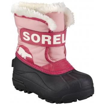 SOREL Snow Commander Coral Pink, Bright Rose