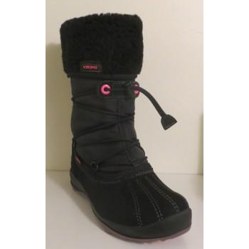 VIKING KATLA black/pink GORE-TEX winterboots 145-83580-209