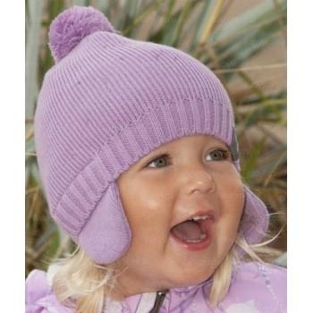 HUPPA knitted hat SAHARA, bark