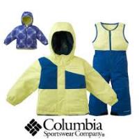 COLUMBIA Girls Snow Slush kahtpidi kantava jopega komplekt