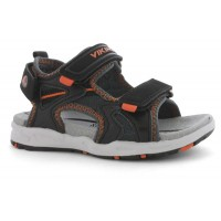VIKING Anchor charcoal/burnt orange sandals 3-43710-07763