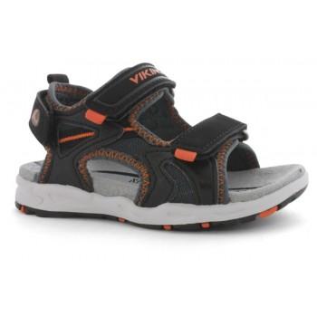 VIKING Anchor charcoal/burnt orange sandals 3-43710-07763
