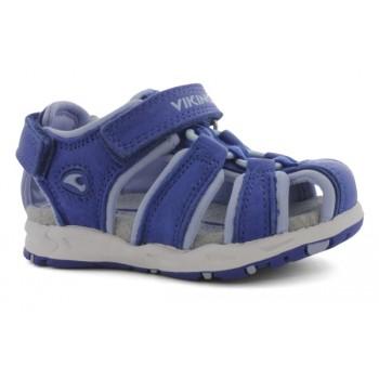 VIKING Fiol blue/light blue sandals
