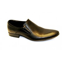 LAVAGGIO solid shoes black, natural leather