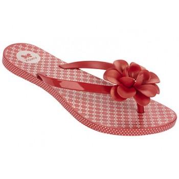 ZAXY Flowers red/flowers rubber shoes 81644-zaxy-90143