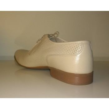 LAVAGGIO solid shoes light beige, natural leather