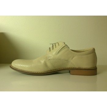 LAVAGGIO casual shoes light beige, natural leather