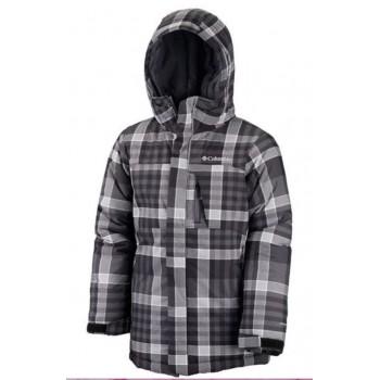 COLUMBIA Boys' Alpine Free Fall™ Jacket insulation 240g black square SB5496-342