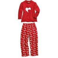 PLAYSHOES pidžaama punane/südamed 411302