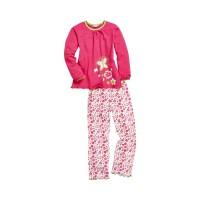 PLAYSHOES pidžaama roosa liblikad/lilled 411601