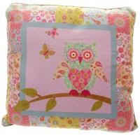 Puckator roosa öökulliga dekoratiivpadi OWL35-roosa