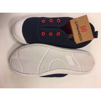 CATMANDOO Eryl Jr/Navy-Red tennisking 82-771321-001