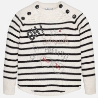 MAYORAL Girl striped knit jumper 7943-16