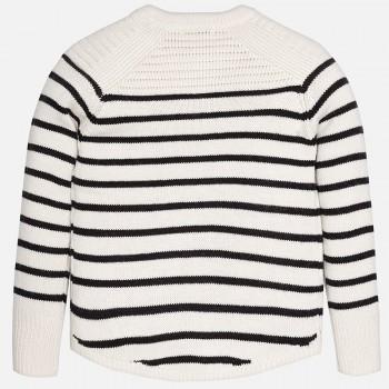 MAYORAL Girl striped knit jumper 7943-16