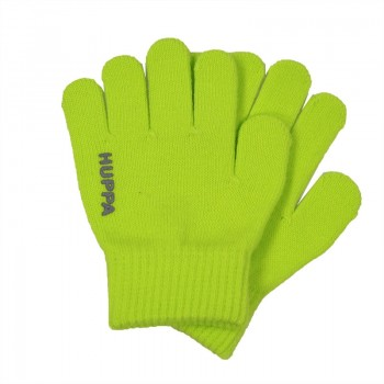 Huppa LEVI knitted gloves lime 82050000-00047