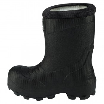 VIKING FROST FIGHTER black/grey with warm lining thermo rubberboots 5-24150-203