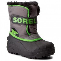 SOREL Snow Commander Quarry/Cyber Green NC1877-052