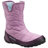 COLUMBIA Youth Minx Slip Omni-Heat Waterproof winterboots lilac BY1329-541