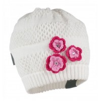 HUPPA knitted hat GLORIA white 8343BASE-00020