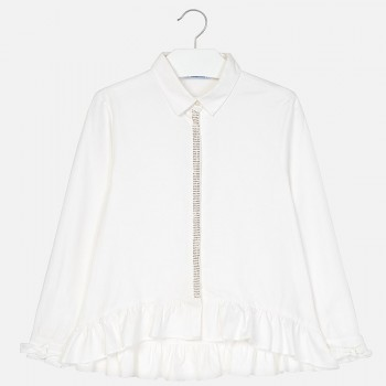 MAYORAL Oxford blouse for girl 7124-53