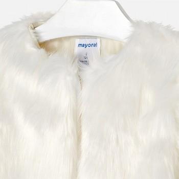 MAYORAL fur coat 7476-62