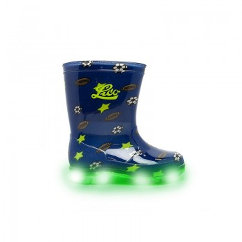 LICO Powerlight Blinky rubber boots 730021