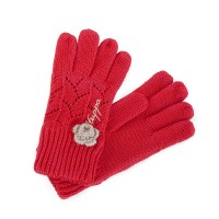 Huppa LEILA knitted gloves red 8208AS13-004
