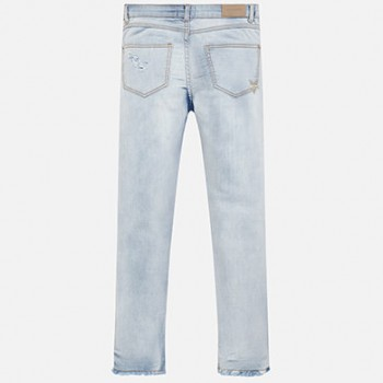 MAYORAL Applique jeans for a girl 6503-69