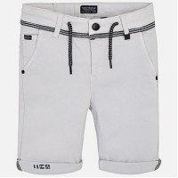 MAYORAL Bermuda shorts with drawstring for boys marble 6219-27