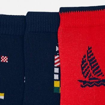 MAYORAL basic set for a boy 3 pairs socks 10572-48