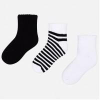 MAYORAL basic set 3 pairs socks 10579-36