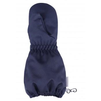 Lassie woven mittens dark blue 727704-6960
