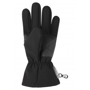 Lassie softshell gloves black 727705-9990