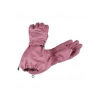 Lassie woven gloves rose 727724-4220